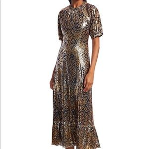 NWOT Sea New York Sequin Midi Dress